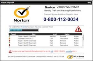 Scareware Fake Norton