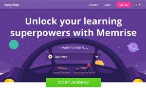 Memrise online language learning
