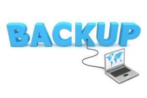 Backup graphic